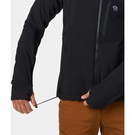 Mountain Hardwear Keele Giacca con cappuccio Uomo, nero
